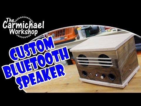 Build a DIY Wooden Bluetooth Speaker - Fun Woodworking Project