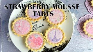 Strawberry Mousse Mini Paris Tarts, Haniela's