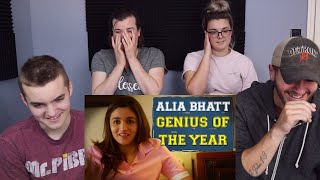 AIB : Alia Bhatt - Genius of the Year REACTION!