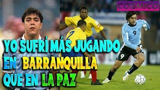 Entrevista a ÁLVARO RECOBA previa al COLOMBIA vs URUGUAY por Eliminatorias QATAR 2022