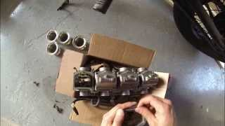 75 honda cb550 cafe racer build pt 55 re jetting the carbs