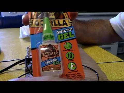 Repairing Music Headphones Gorilla Super Glue Gel