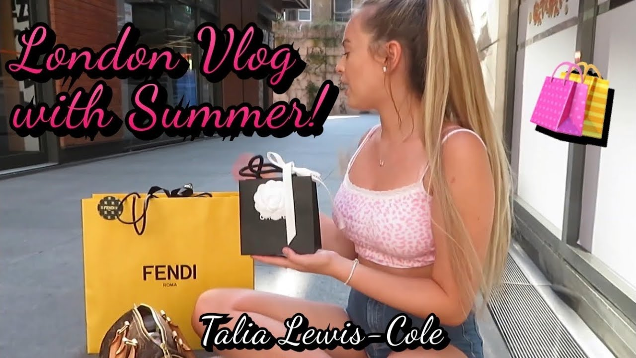 London Vlog with Summer! ~ TLC