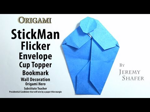 Origami Picasso Envelope - YouTube | 360x480