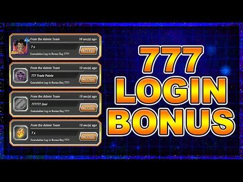 777 Days *LOGIN BONUS* Special Reward!? (Dragon Ball Z Dokkan Battle)