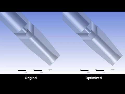 ANSYS Fluent: Nozzle Design Optimization - Part 2