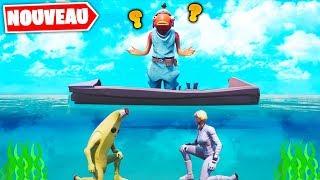 Les Meilleurs Cachettes sous l'Océan ! Fortnite Créatif Game