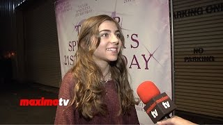Jada Facer Interview | Taylor Spreitler's 21 In The City | Red Carpet