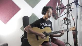 Aku Scandal Acoustic (Hujan Cover) By Aziz Harun