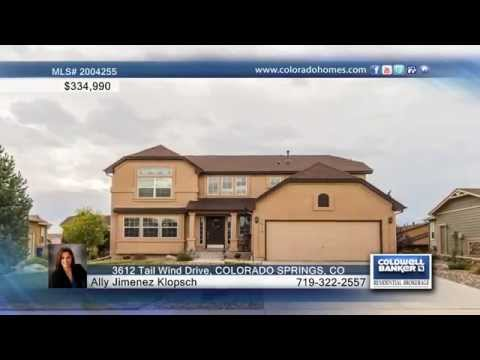 3612 Tail Wind Drive  COLORADO SPRINGS, CO Homes for Sale | coloradohomes.com