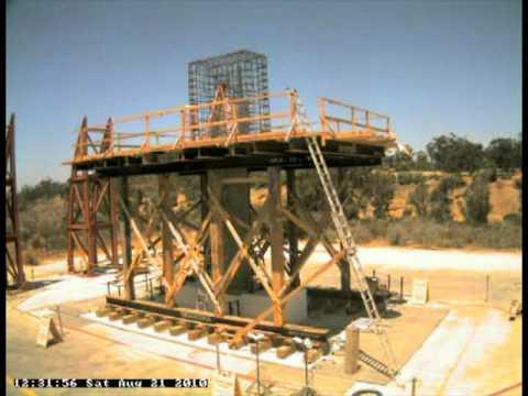 2010 08 Large Bridge Column Timelapse