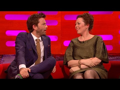 David Tennant & Olivia Colman's sexual tension  The Graham Norton : Series 16  BBC One