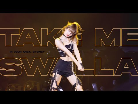 (4k) 190615 BLACKPINK LISA Solo Stage (Take me + Swalla) / 2019 WORLD TOUR in SYDNEY