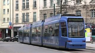 Tram München // Linie 27 Umleitung zum Stiglmaierplatz (XXL)