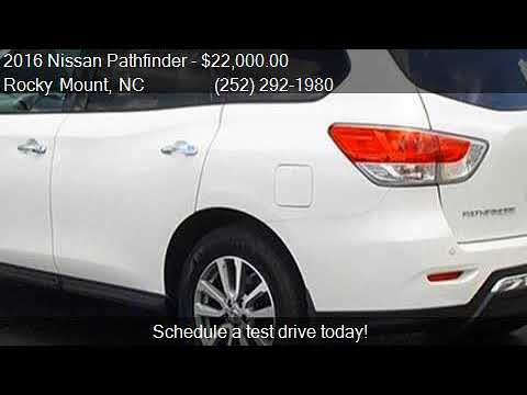 2016 Nissan Pathfinder For Sale In Rocky Mount, NC 27804 At