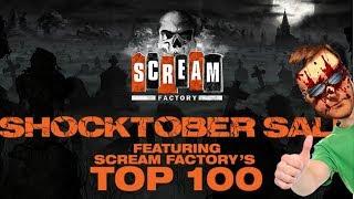 Scream Factory Shocktober Sale 2018 Unboxing