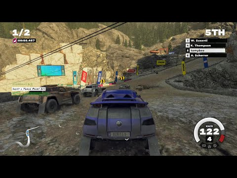 VW Race Touareg 3 - DIRT 5 Gameplay - Italy: Foci di Giovo |