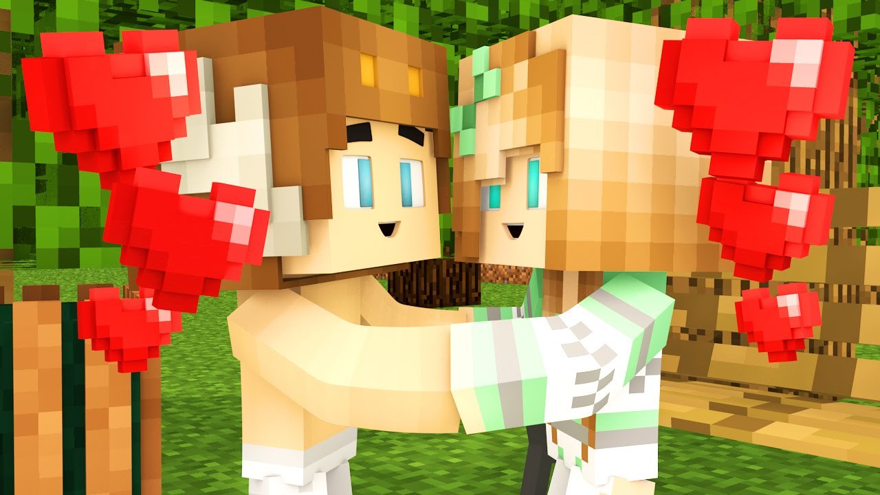 Minecraft - WHO'S YOUR MOMMY? - BABY FIRST KISS !?