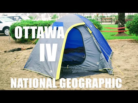 Carpa / Tent National Geographic Ottawa IV - Unboxing