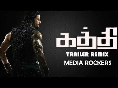 Kaththi Tamil Trailer- WWE Roman Reigns...