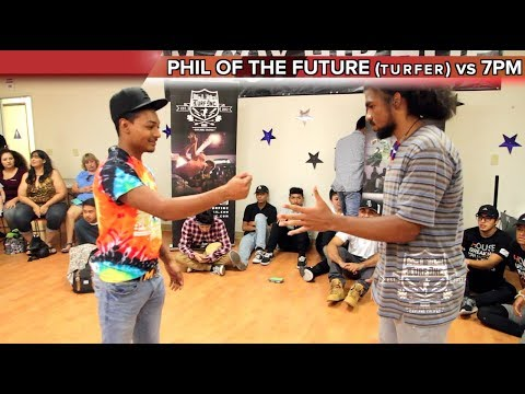 Phil of the Future vs 7pm MAIN EVENT Fresno, Ca. McCoy Hip Hop TURFinc Dance Battle Tour 2017