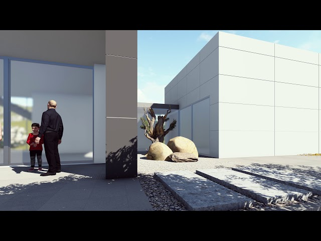 Casa de campo en 3D Render, la mejor forma de mostrar un diseño