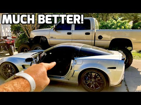 Making The HORRIBLE C6 CORVETTE Interior Better With This Mod! (ZR1)