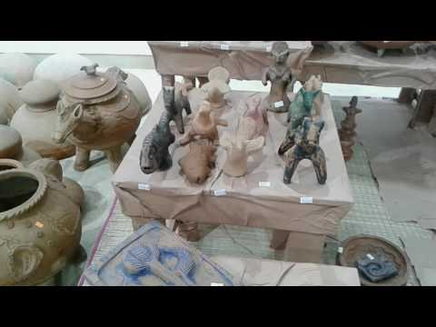 Terracotta fair and exhibition by national crafts council of Bangladesh