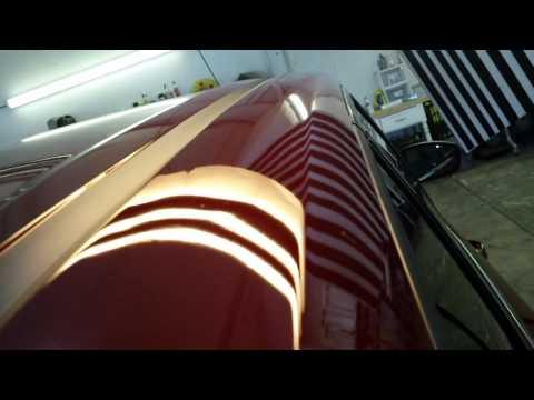 Paintless Dent Repair Roof Rail Escape