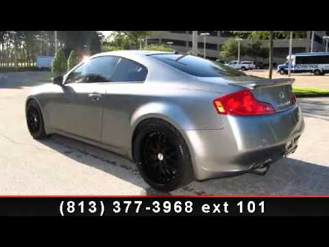 2006 INFINITI G35 COUPE  Veterans Ford  Tampa FL 33625  YouTube