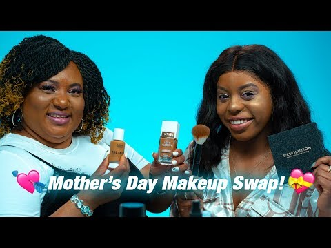 Mother & Daughter SWAP Makeup Styles For Mother's Day! | Mimi Missfit