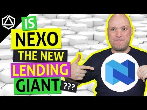 Is NEXO the New Crypto Lending Giant?