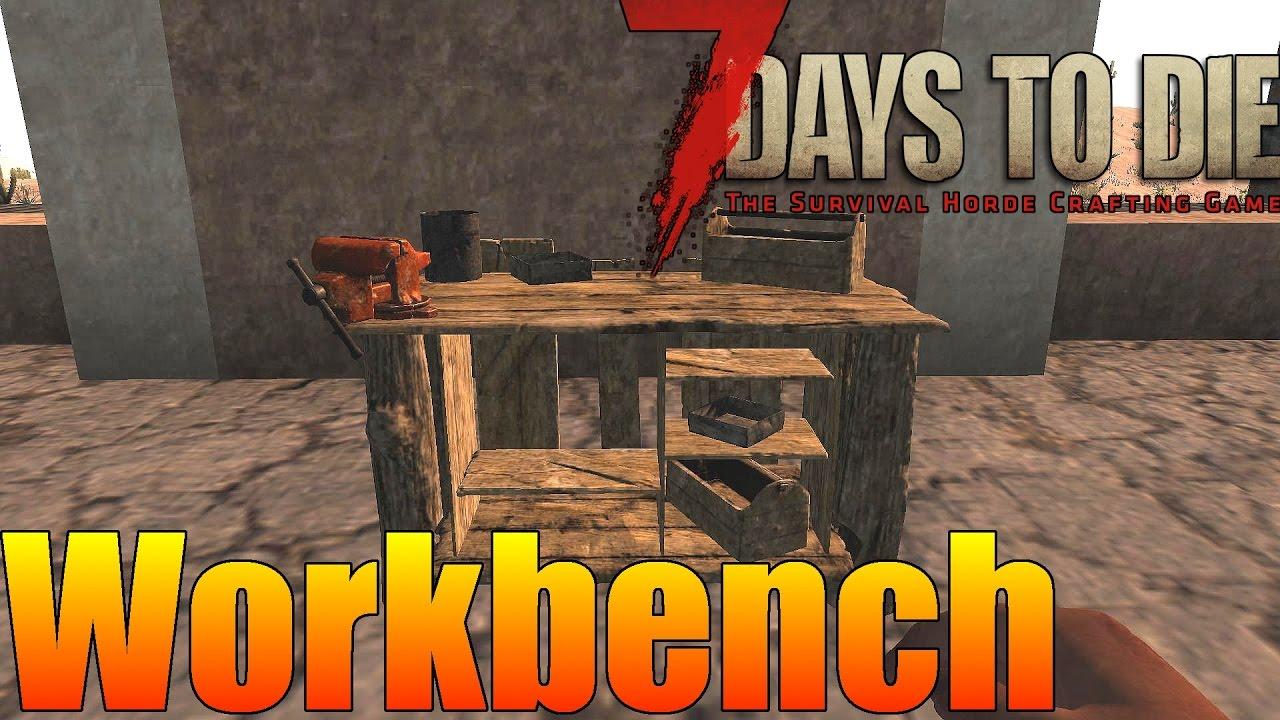 7 days to die цементный раствор