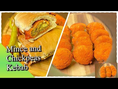 Mince And Chickpeas Kebab/falafel
