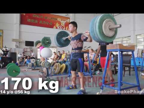 This is why Chinese weightlifters are the best