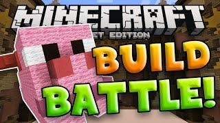 BUILD BATTLE SERVER for Minecraft Pocket Edition!!