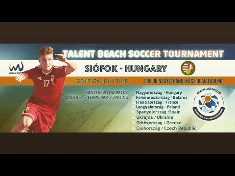 Hungary🇭🇺️ - Greece🇬🇷️  ⚽ U21 Talent Beach Soccer Tournament