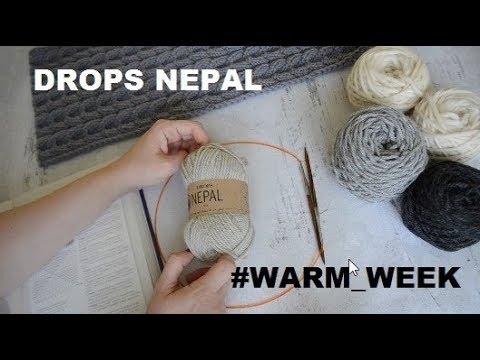 DROPS NEPAL ❤ WARM WEEK ❤ Обзор пряжи