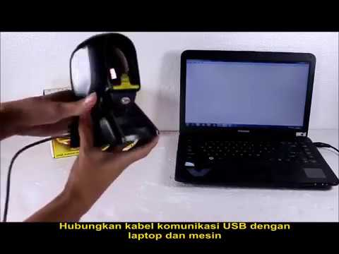 Unboxing MINIPOS MP-2200 Omni Laser Barcode Scanner (Gold)