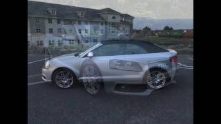 rear audi a3 s line convertible