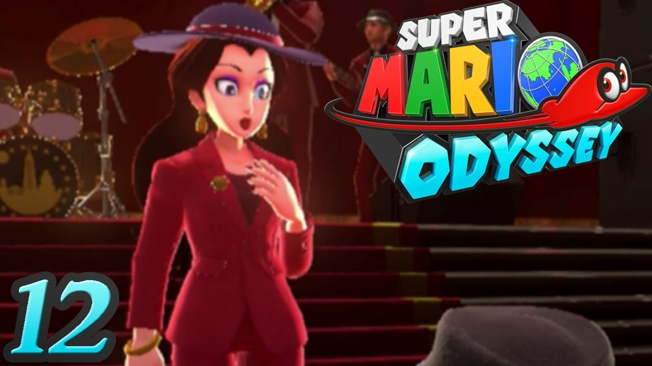 Super Mario Odyssey Mayor Pauline Part 12 Metro Kingdom Gameplay Walkthrough