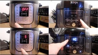 Converting Instant Pot Buttons for Ninja Foodi and Other Electric Pressure Cookers