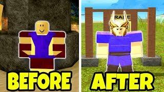 How Booga Booga Used To Look Like! Roblox