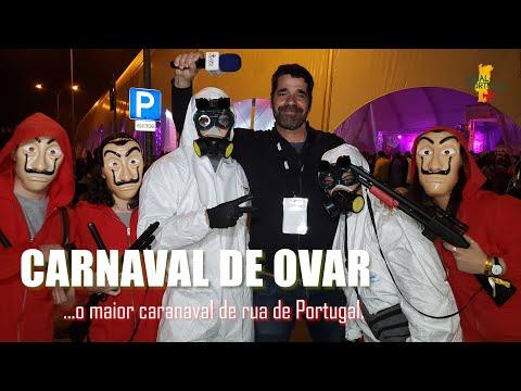 Noite Mágica do carnaval de Ovar, o maior Carnaval de Rua de Portugal !!!