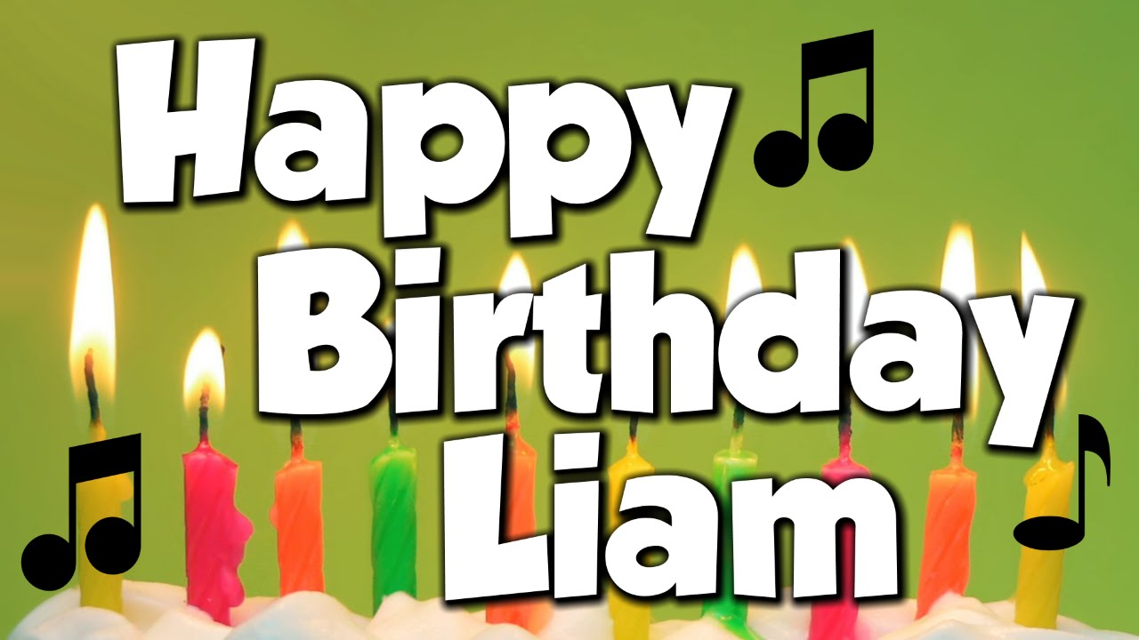 Image result for happy birthday liam