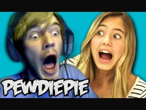 Thumbnail: TEENS REACT TO PEWDIEPIE!