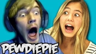 Repeat youtube video TEENS REACT TO PEWDIEPIE!