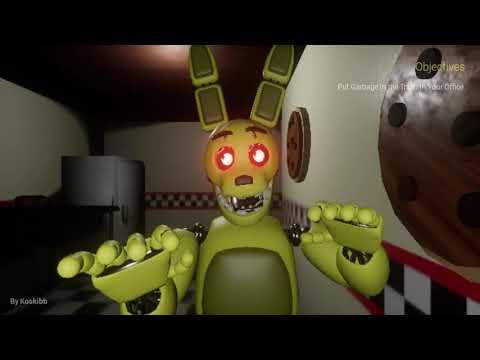 SPRİNGBONNİE NİN SALDIRILARI! I Fredbear's Diner: Back From The Dead I Bölüm 1
