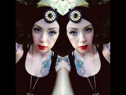 DIY Great Gatsby turban/headband