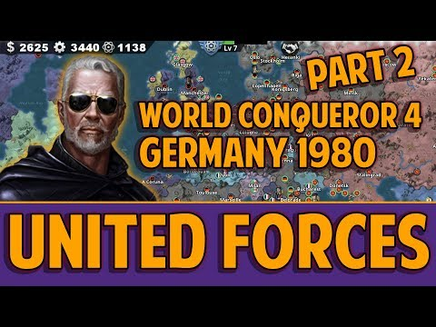 [WC4] WEST GERMANY 1980 Conquest Gameplay [2] UNITED FORCES